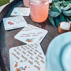 Some Coasters and Friendship Quotes