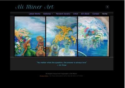 ARTIST ALI MINER