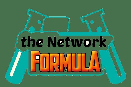 The Network Formula  Image of logo trasparente the net