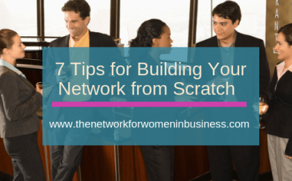 building your network from scratch
