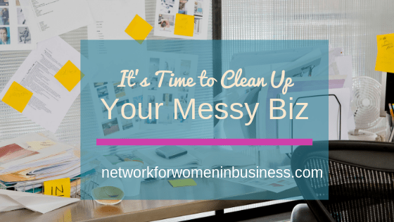 Discover the 3 Magic Words that will Alleviate Small Business Stress & Help You Clean Up Your Messy Biz