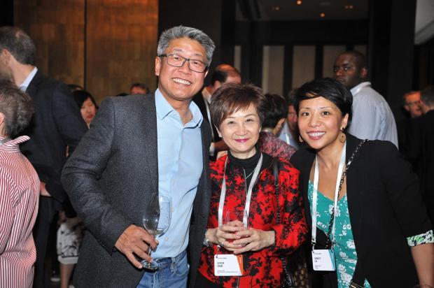 Viveca chan and delegates