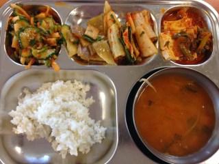 Korean School Lunches