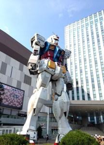 Giant Gundam, Odaiba