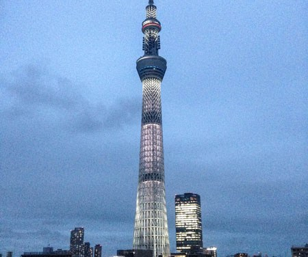 10 Days in Tokyo: Skytree and Narita
