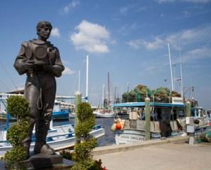 Sponge Diver Memorial, Sponge Docks, Tarpon Springs, Florida