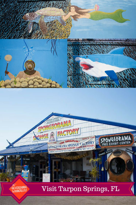 Visit Tarpon Springs, Florida, USA for a great day at the Sponge Dock and some amazing Greek food!