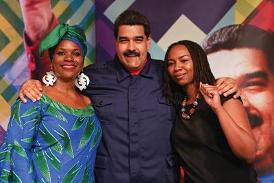 Black Lives Matter co-founder Opal Tometi systemic racism Venezuelan dictator Nicolas Maduro