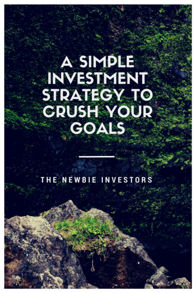 A simple investment strategy to crush your goals