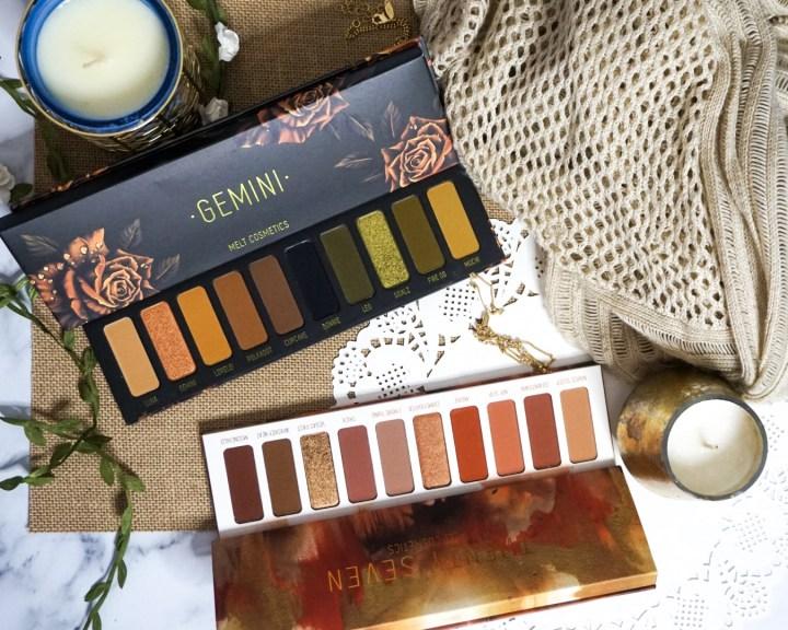 Yearlong Beauty Low-Buy #1 | Melt Cosmetics Gemini + Twenty-Seven Eyeshadow Palettes