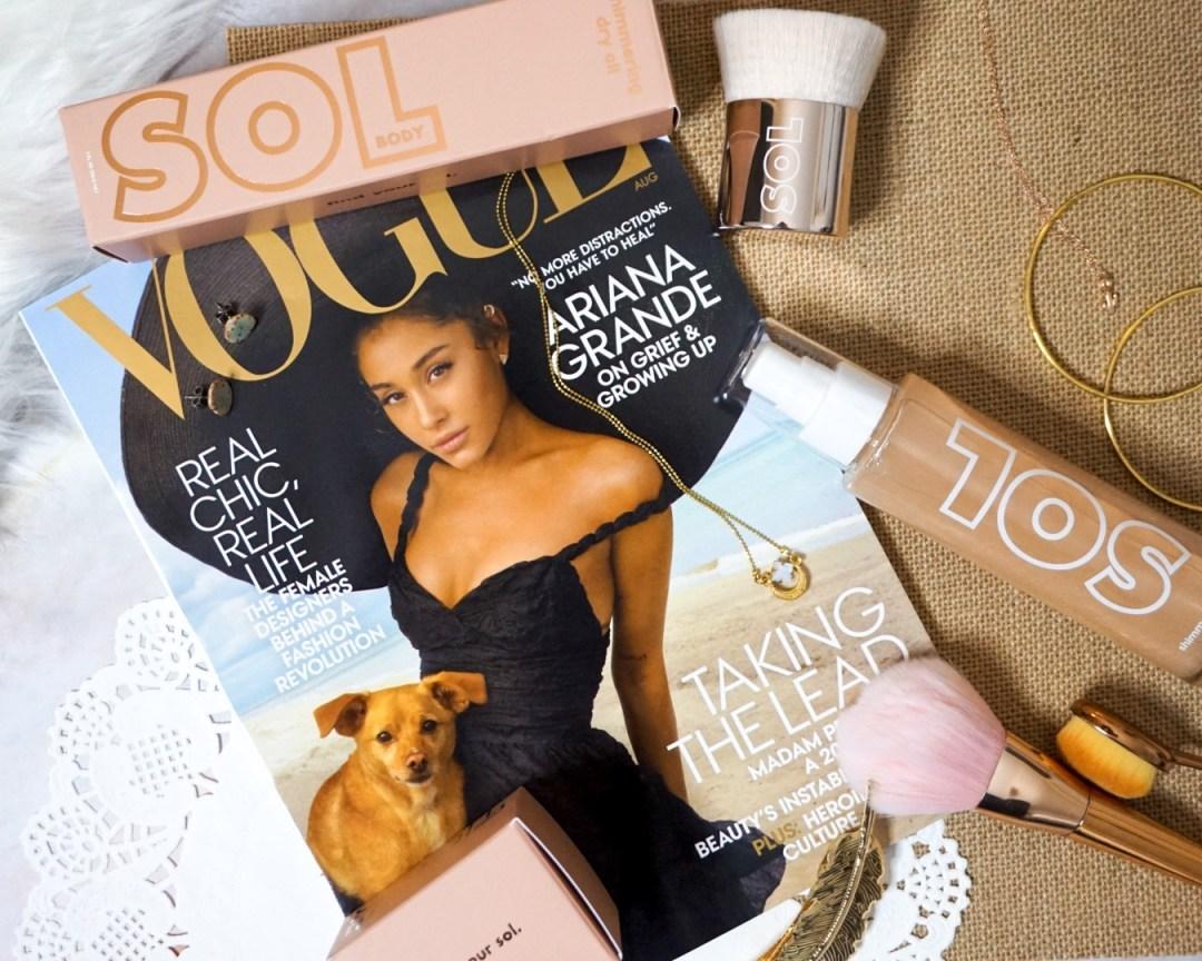 Sol Body Kabuki & Soft Gold Dry Body Oil
