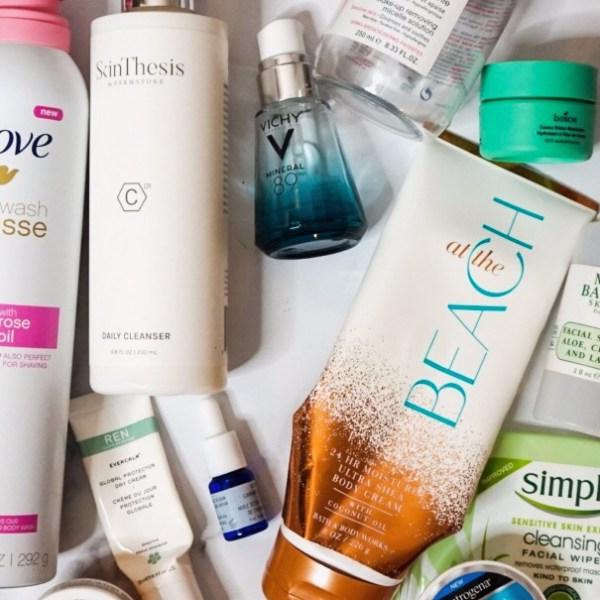 Summer Beauty Empties - Skincare