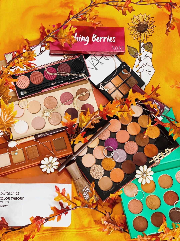 The Best Fall Eyeshadow Palettes - Warm Tones