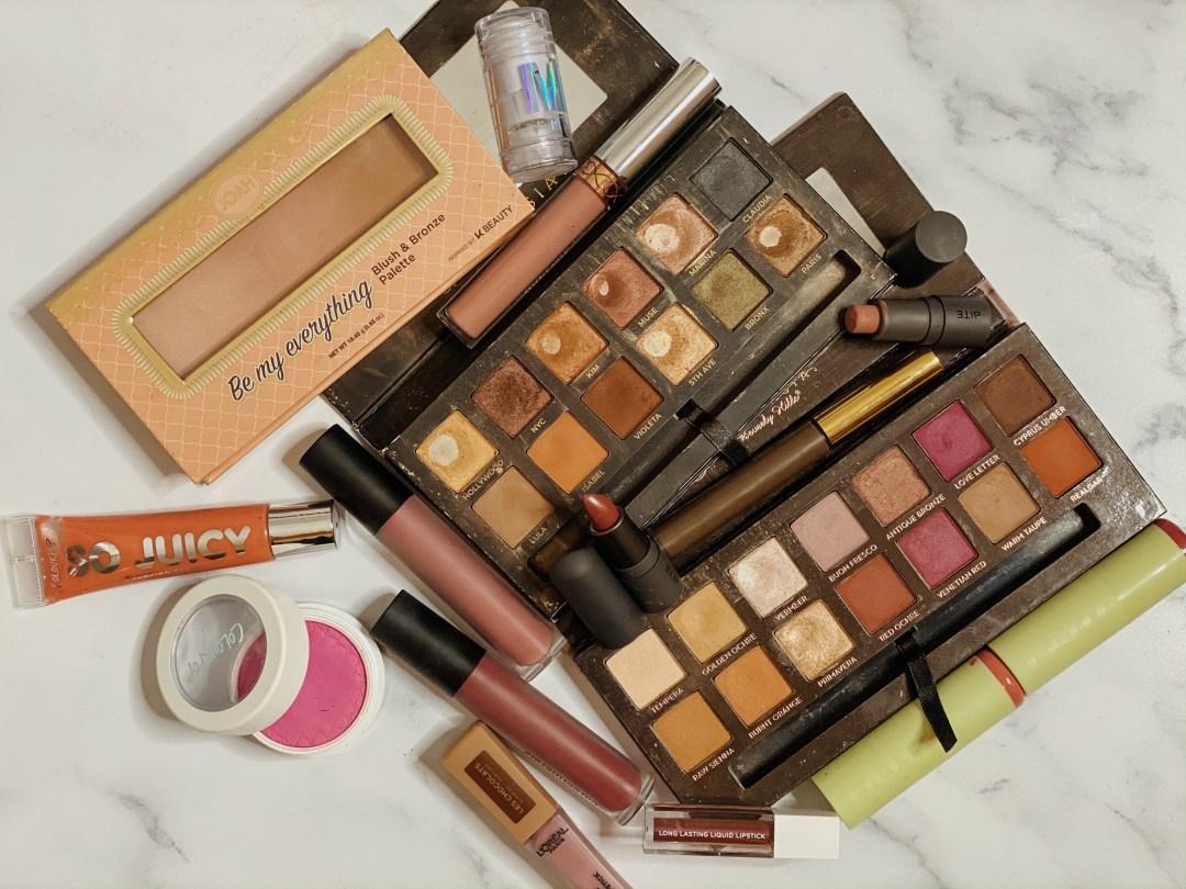 Huge Beauty Declutter | Massive Eyeshadow Palette Declutter