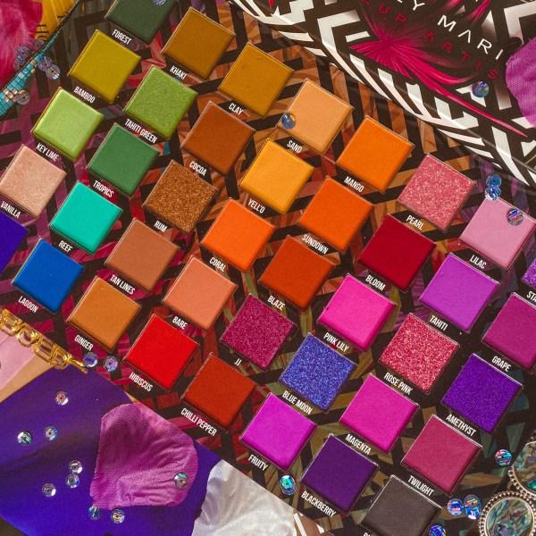 Stacey Marie x bPerfect Carnival III Love Tahiti Palette