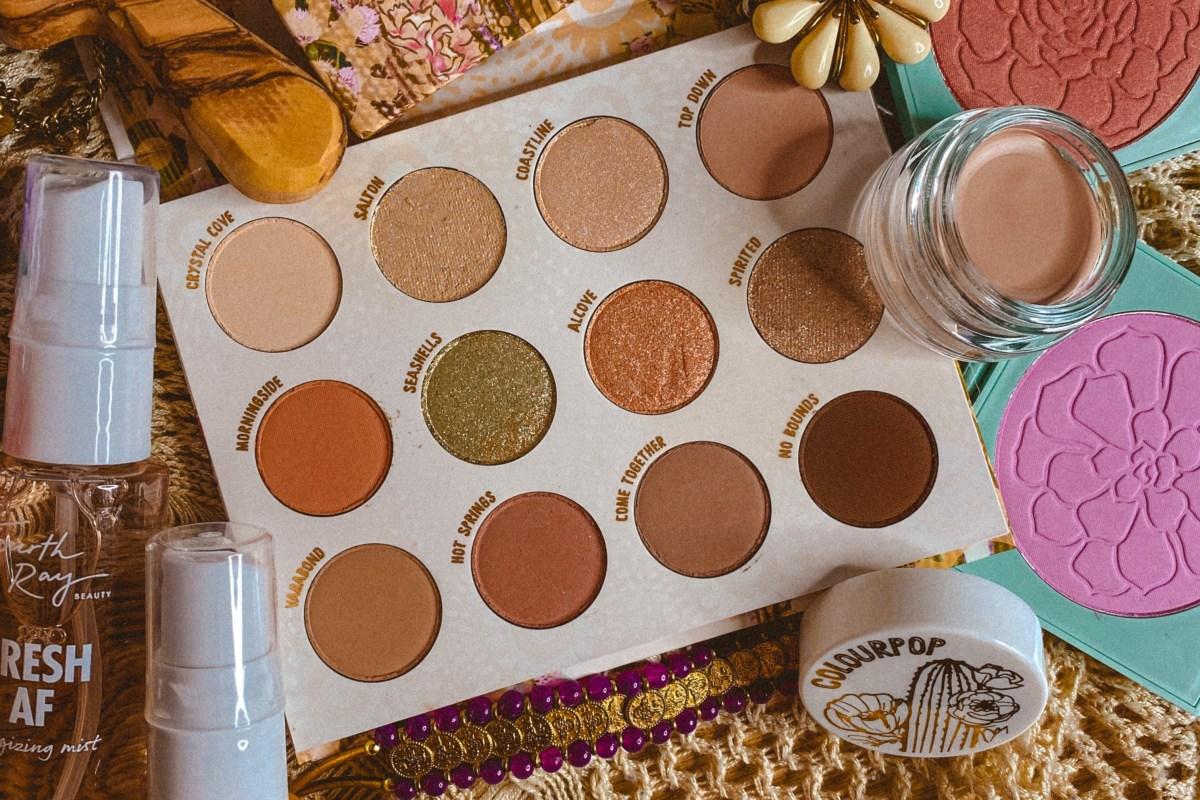 ColourPop Wild Nothing Palette | ColourPop Vegan Eyeshadow Palette | Affordable Vegan Eyeshadow Palette