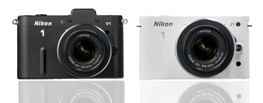 Nikon V1 and J1 Specification comparison review
