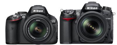 Nikon D5100 vs Nikon D7000