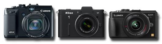 canon G1 X vs Nikon 1