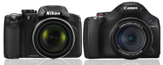 Nikon P510 vs Canon SX 40 HS