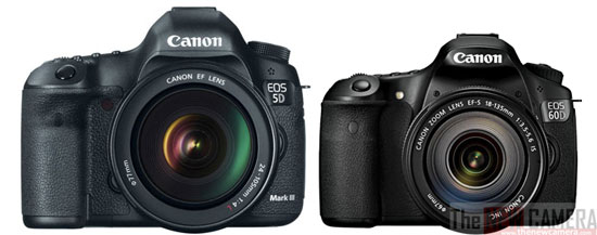 canon firmware update 5d mark iii 60d and 60da new camera