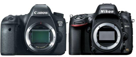 Canon 6D vs D600