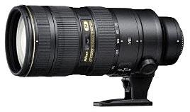 Nikon 70-200mm f/2.8G ED VR II