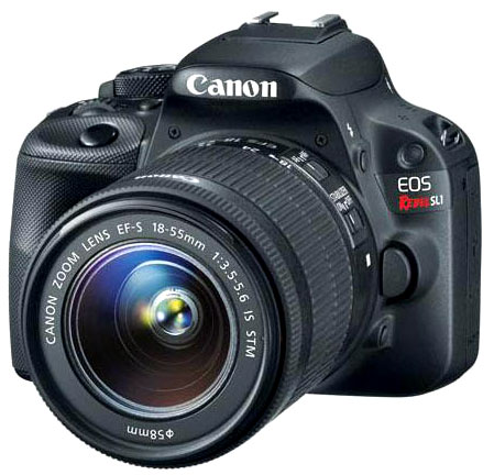 Canon SL1 Side