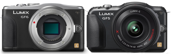Panasonic GF6 Comparion Review « NEW CAMERA