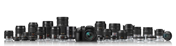 Panasonic-GH4-with-lenses