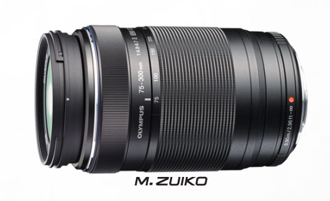 75-300mm lens for E-M5 camera image