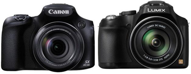 Canon-SX60-HS-vs-FZ70-camer