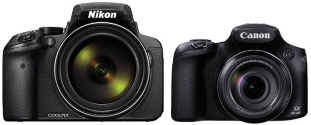 Nikon COOLPIX P900 vs. Canon Power Shot SX60 HS  1