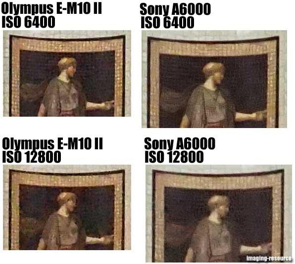 Olympus OM-D E-M10 II vs. Sony A6000 5