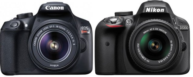 Canon-1300D-vs-Nikon-D3300-