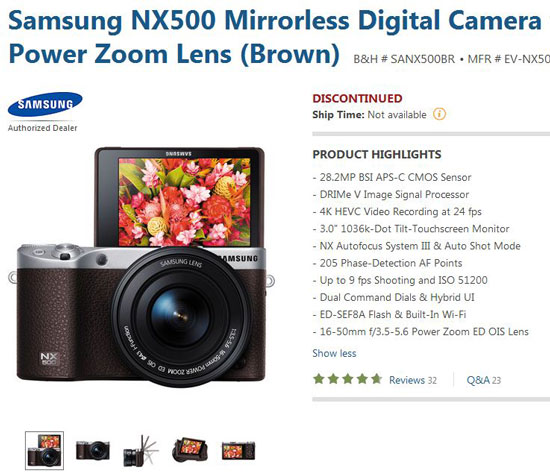 Samsung-NX500-discountinued