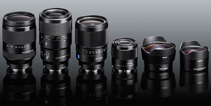 Sony upcoming lenses image
