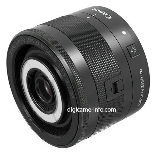 Canon 28mm Macro Lens for Mirrorless