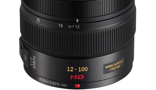 12-100mm lens