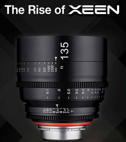 Xeen 135 lens