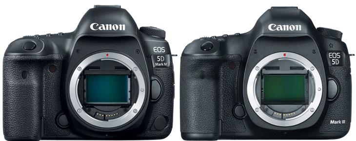 Canon 5D Mark IV vs Caon 5D Mark III