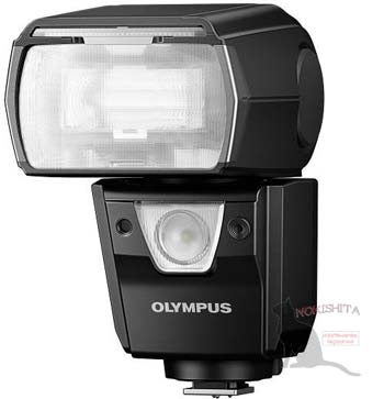 Olympus flash image