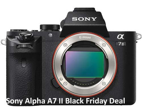 Sony A7 II BF deals image