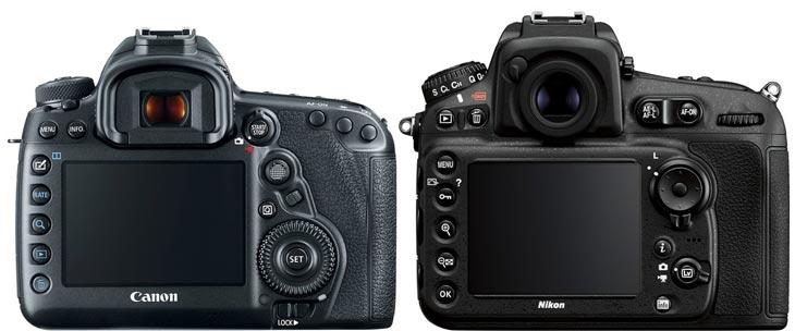 Canon 5d Mark Iv Vs Nikon S