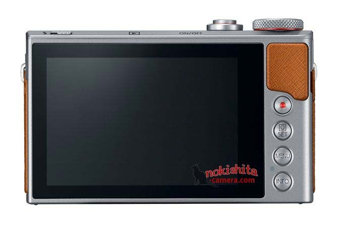 Canon G9X Mark II back