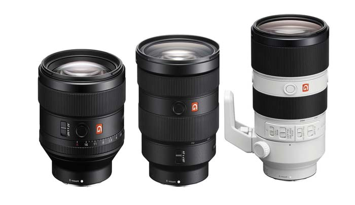Sony lens rumors