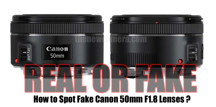 How to spot real or fake lens image