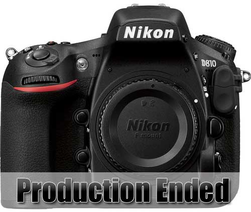 Nikon D810 production ended