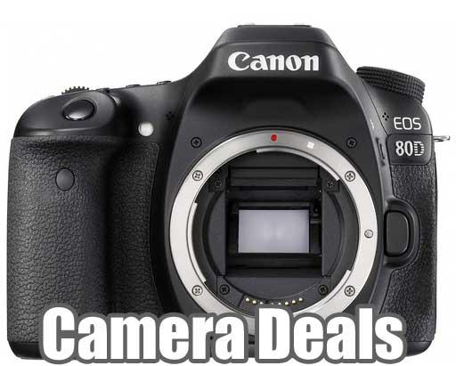 Canon 80D Camera Deals « NEW CAMERA