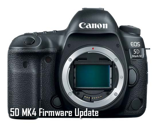 Canon 5D Mark IV update
